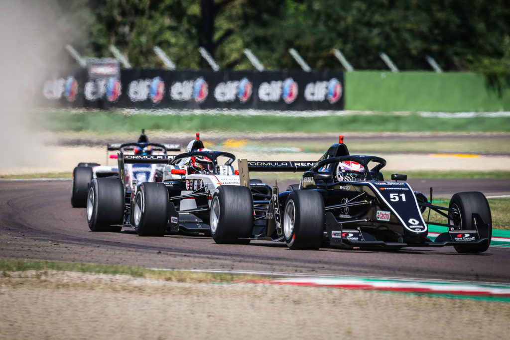László Tóth left Imola without points on the second round of Formula Renault Eurocup