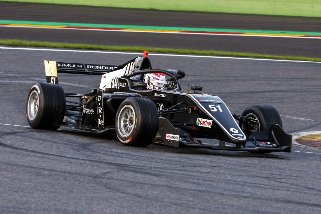 László Tóth scores points starting from P17 at Spa-Francorchamps