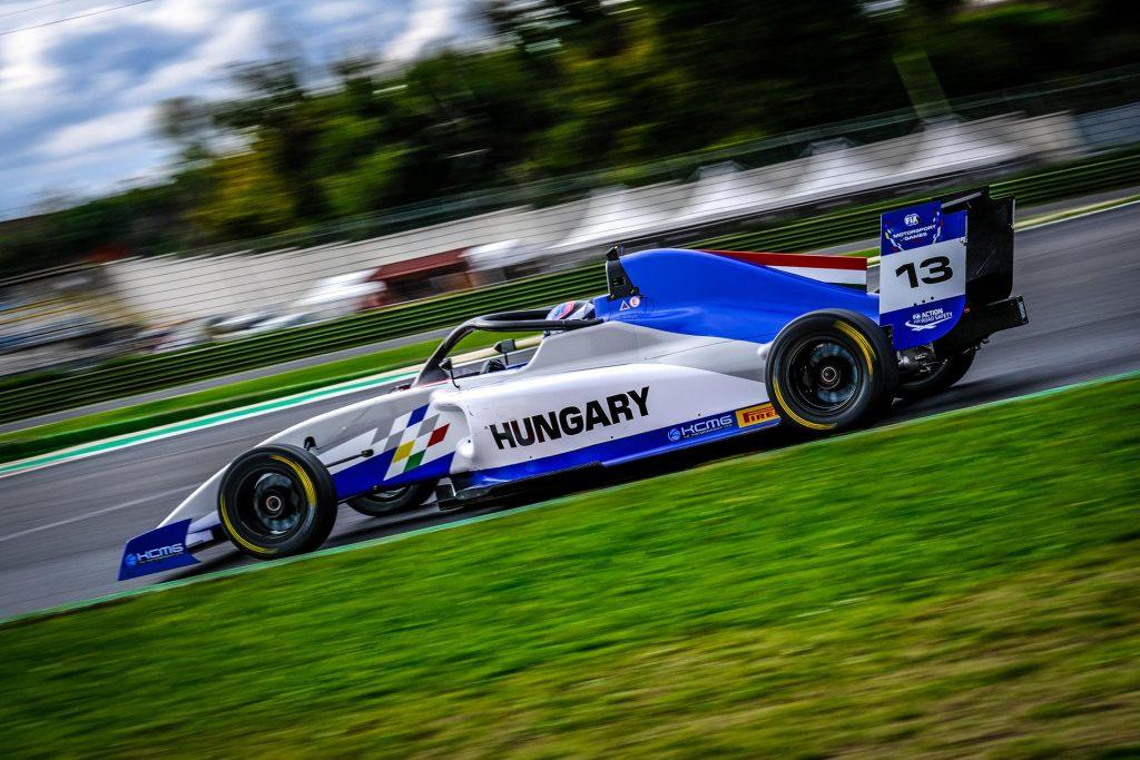 László Tóth 7th on the main race of Formula 4 category