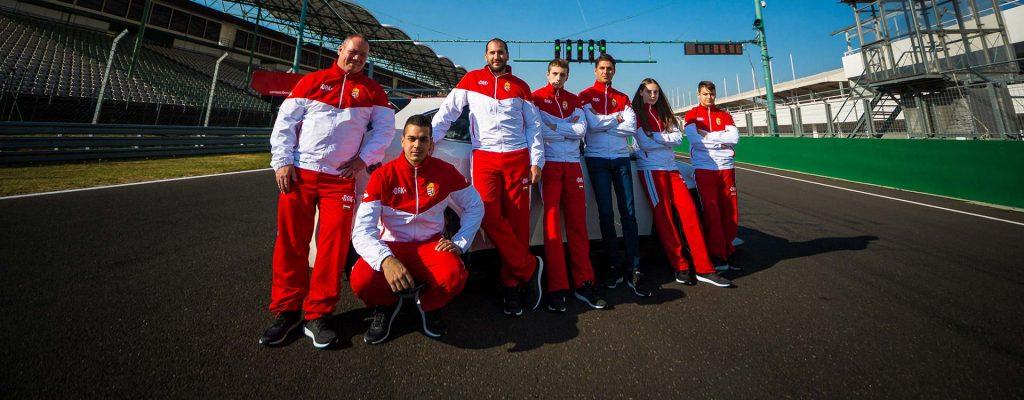 Szerdán elindul Rómába a Team Hungary