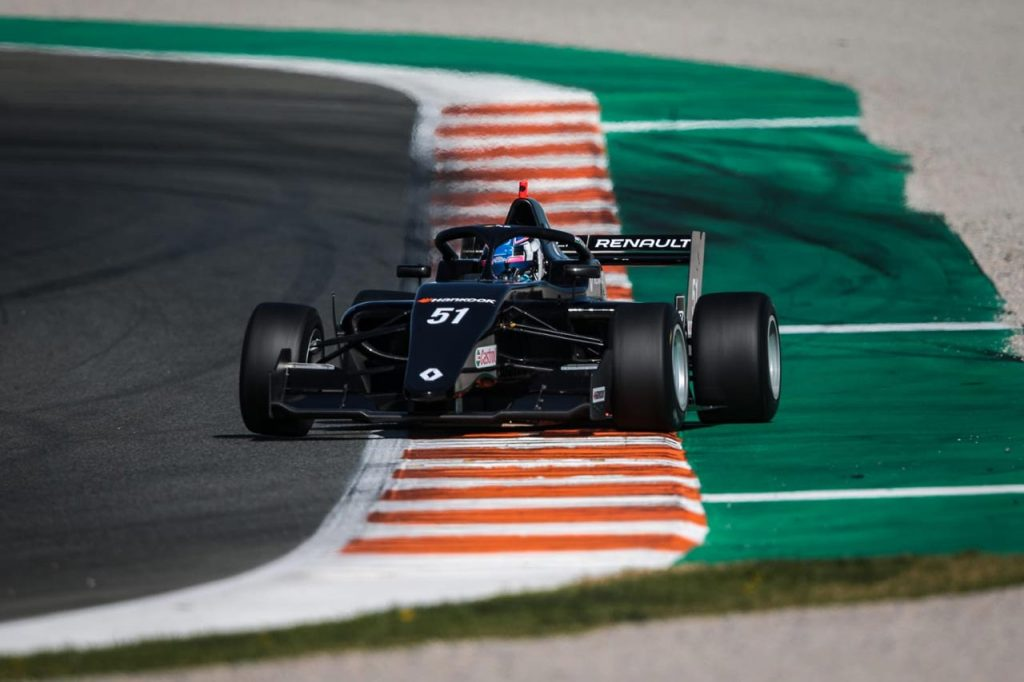 Formula Renault Eurocup first test in Valencia