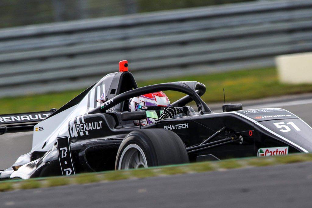 Improvement but no points for László Tóth at Nürburgring in Formula Renault Eurocup
