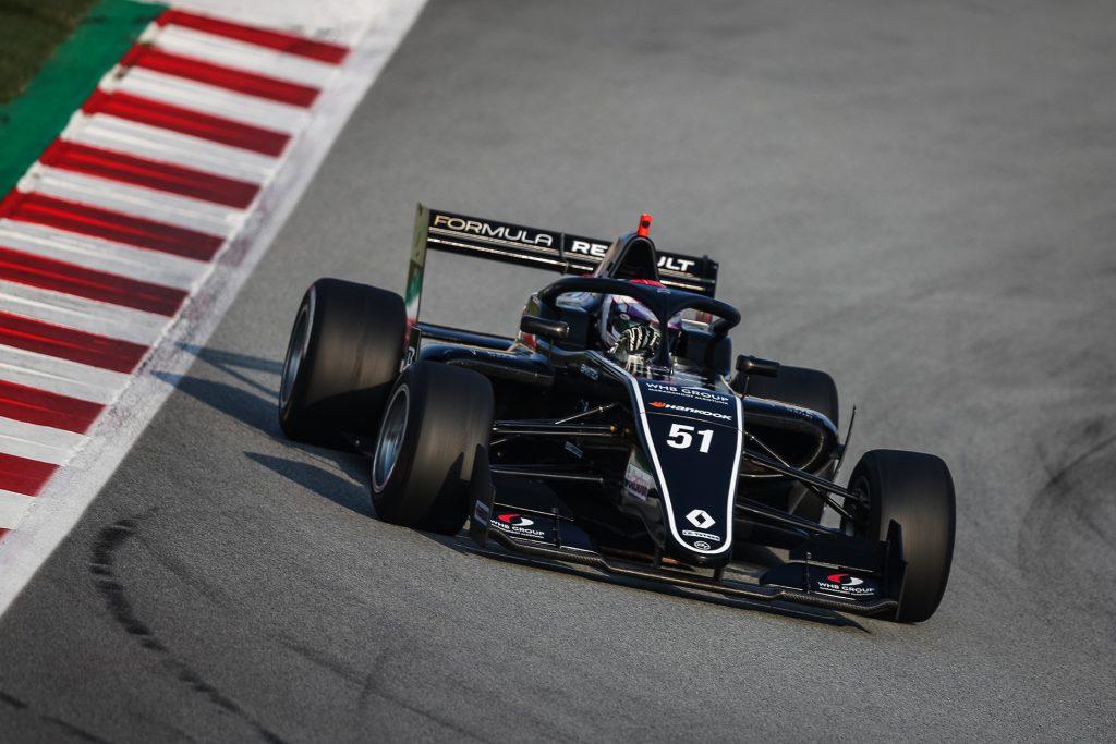 Pontszerzéssel távozott Tóth László a Formula Renault Eurocup barcelonai hétvégéjéről