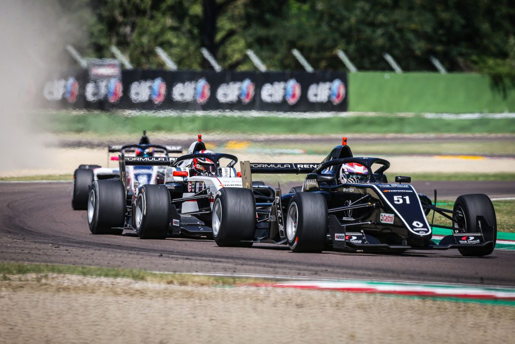 Formula Renault Eurocup races in Imola as support series of the F1 Emilia Romagna Grand Prix