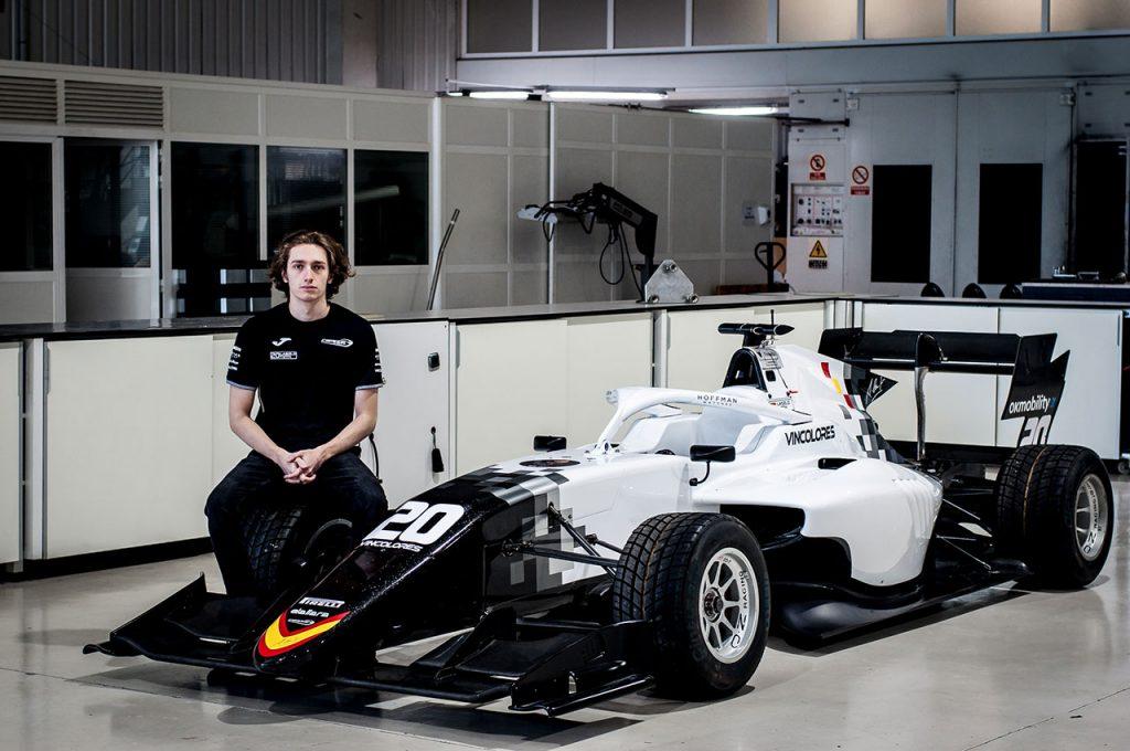 László Tóth is to race in Formula 3
