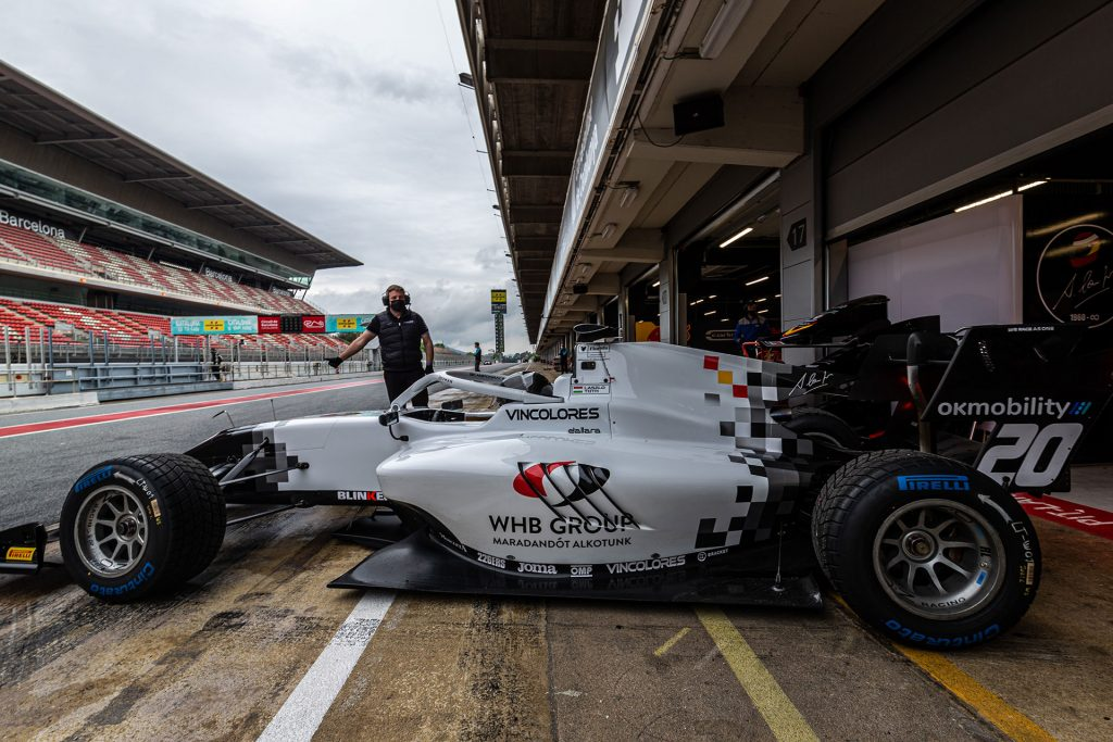 László Tóth will make his debut in the FIA Formula 3 Championship at Barcelona
